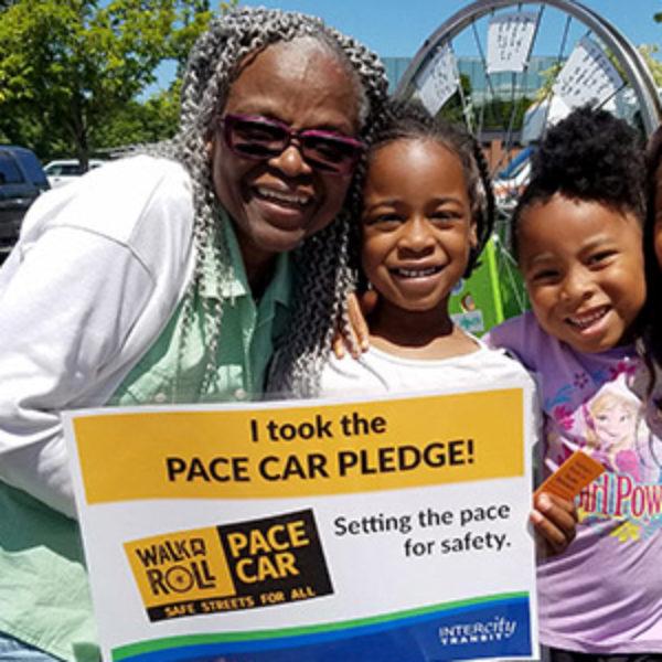 Free Pace Car Bumper Sticker