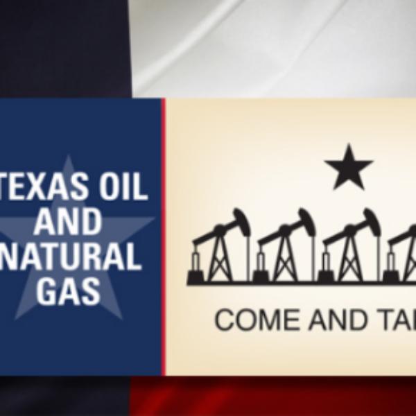 Free Texas Oil & Gas Sticker