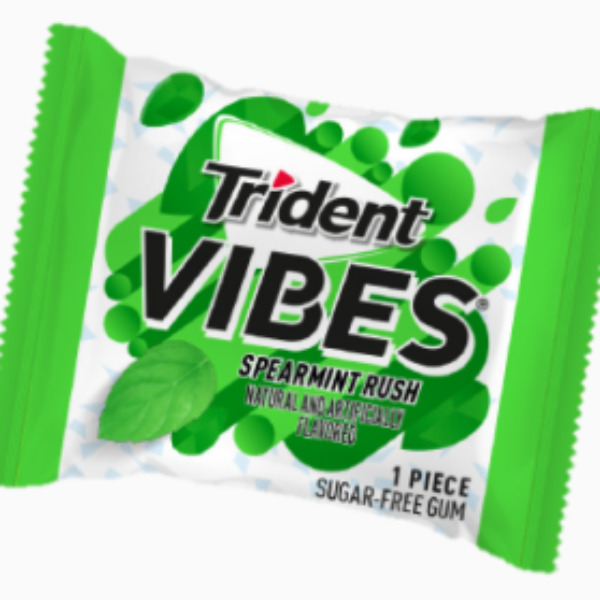 Free Trident Vibes Gum Samples