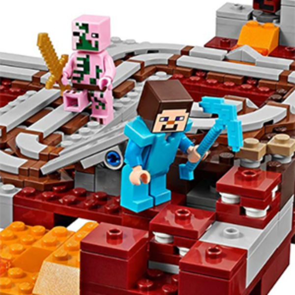 LEGO Minecraft The Nether Railway Just $19.99