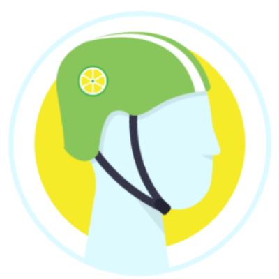Free Lime Bike Helmet - First 25,000