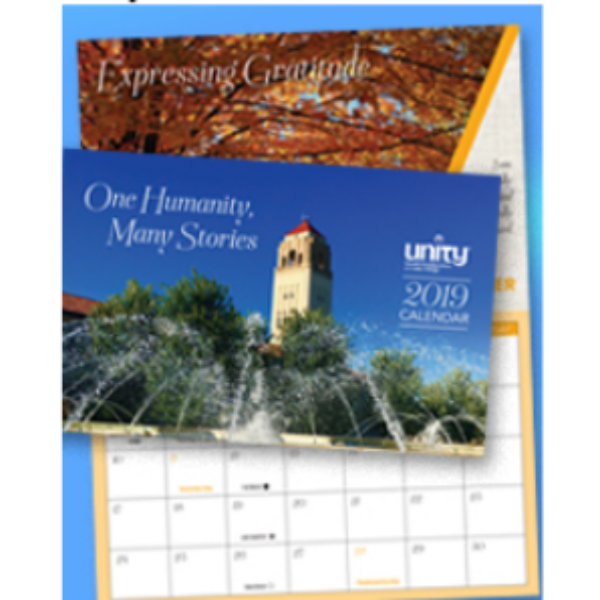 Free 2019 Unity Calendar