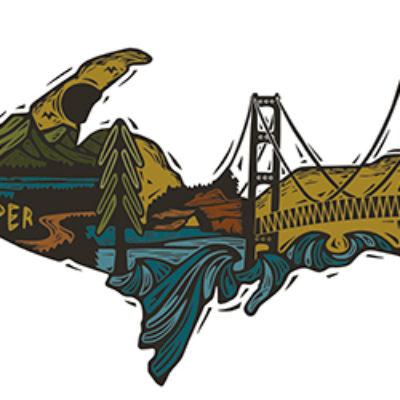 Free Upper Peninsula Sticker