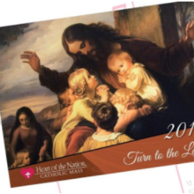 Free 2019 Catholic Art Calendar
