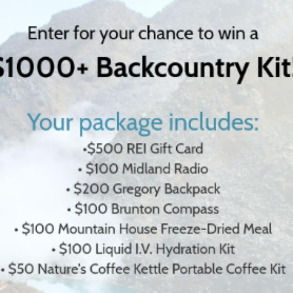 Win a $1K+ Backcountry Kit