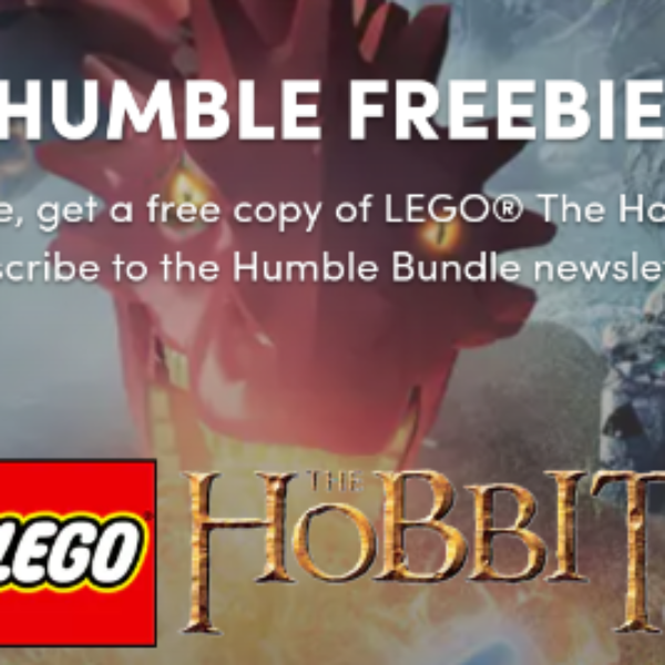 Free LEGO The Hobbit PC Game from Humble Bumble
