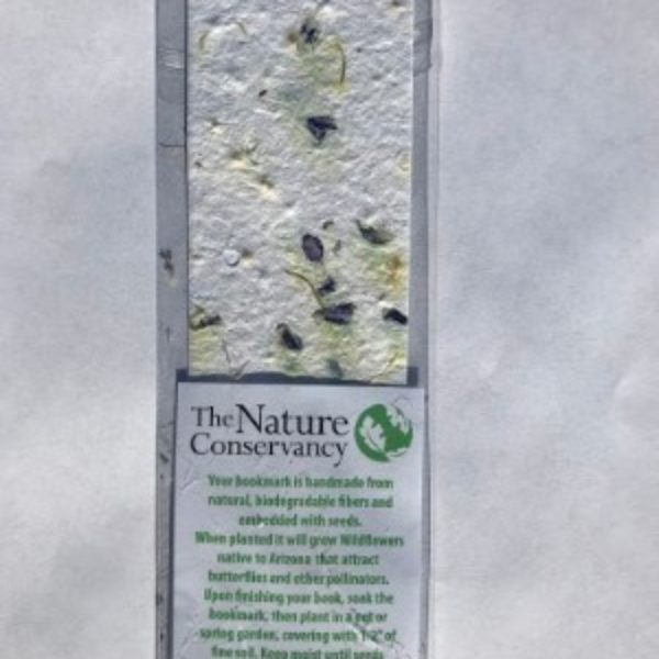 Free Wildflower Bookmark