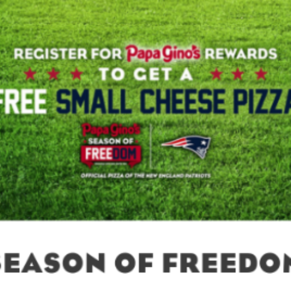 Papa Gino's: Free Small Cheese Pizza