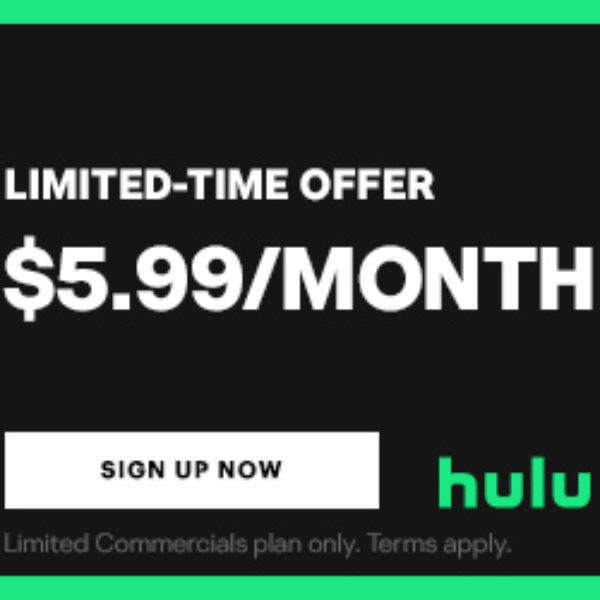 Free One-Month Trial of HULU