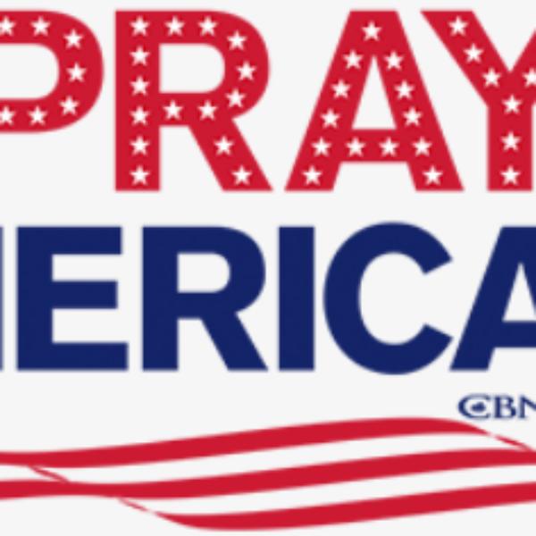 Free 'Let's Pray' Bumper Sticker