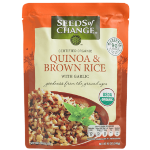 Free Seeds Of Change Product W/ Coupon Code