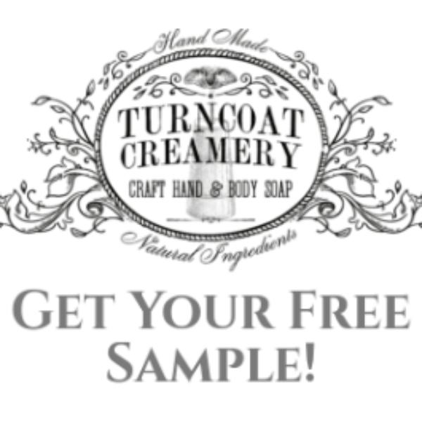 Free Turncoat Creamery Soap Samples